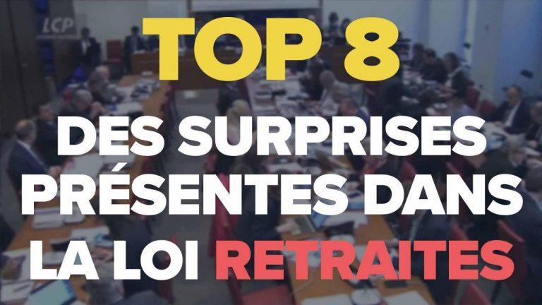 top 8 suprises