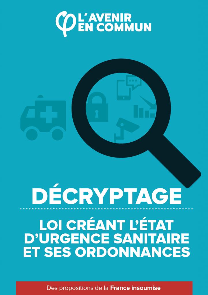 decryptage ordonnances couverture
