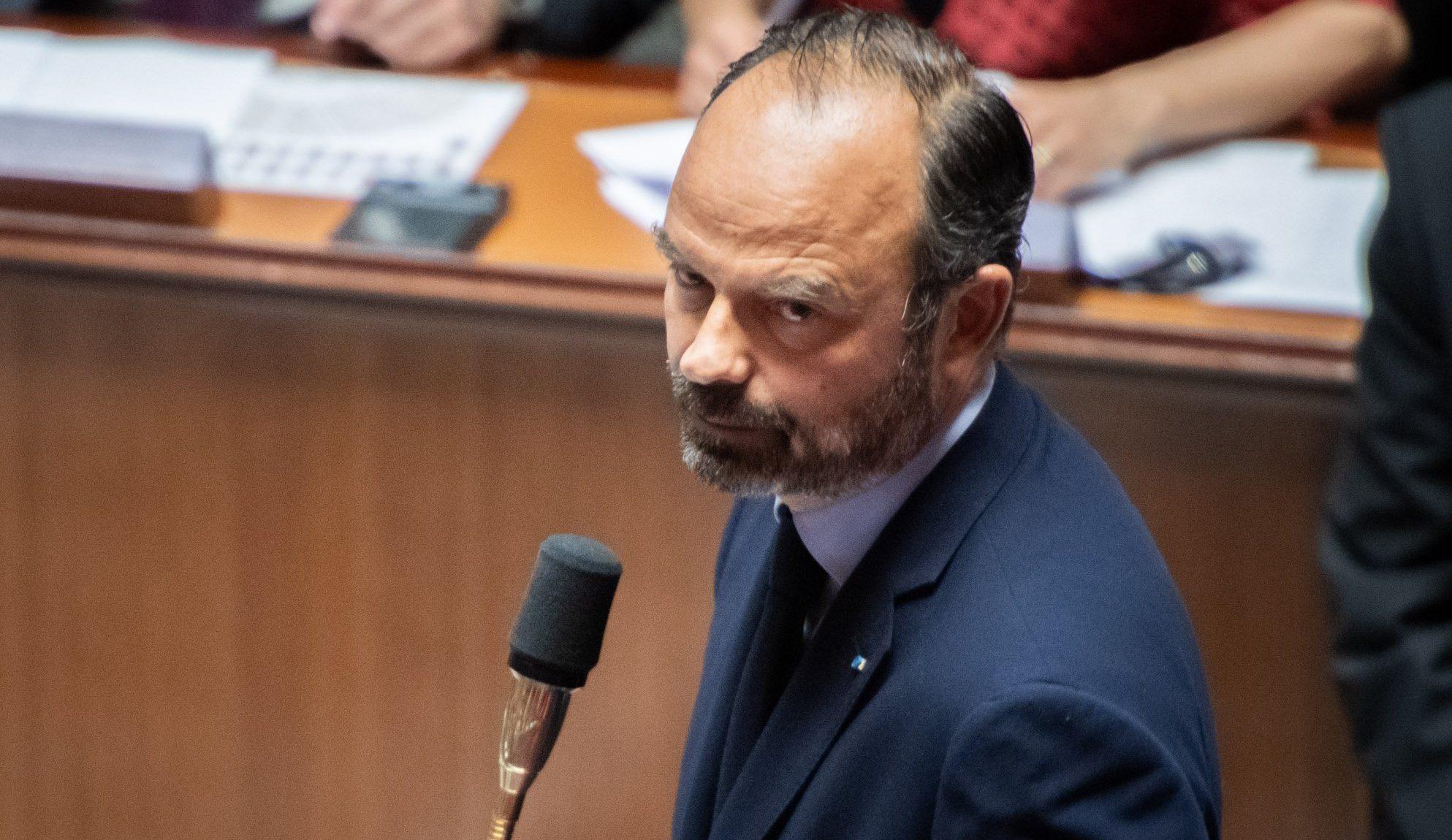 Edouard Philippe à l'Assembée Nationale
