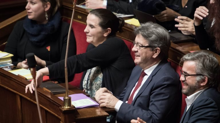 france insoumise replique