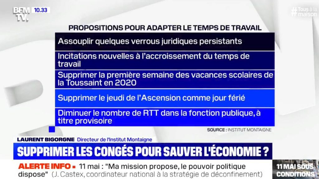 Capture BFM TV du 6 mai 2020