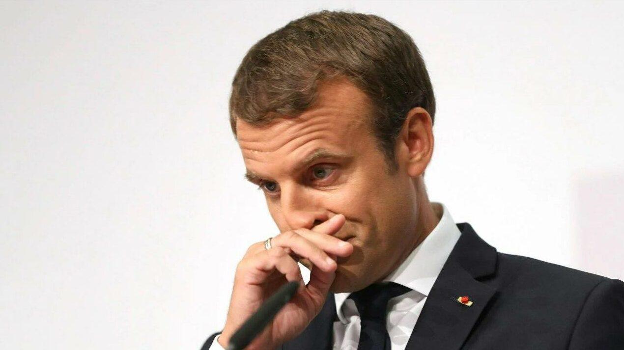 Macron grimace e1614613899576