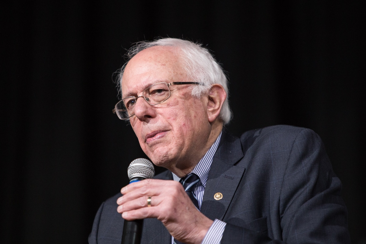Bernie Sanders at Roosevelt High School 24050281453