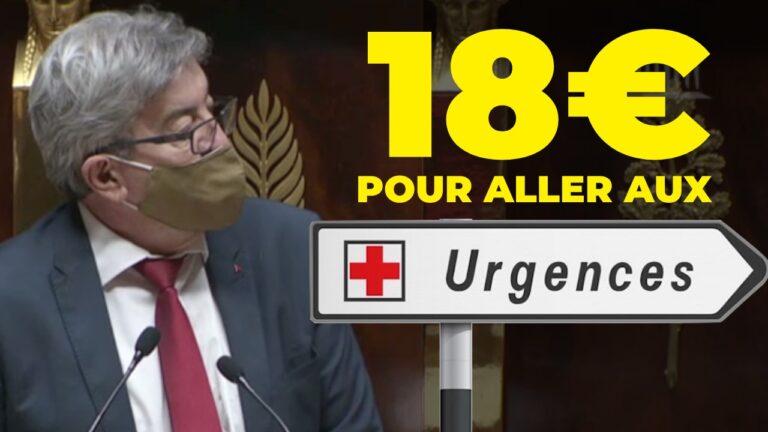 18 euros urgences