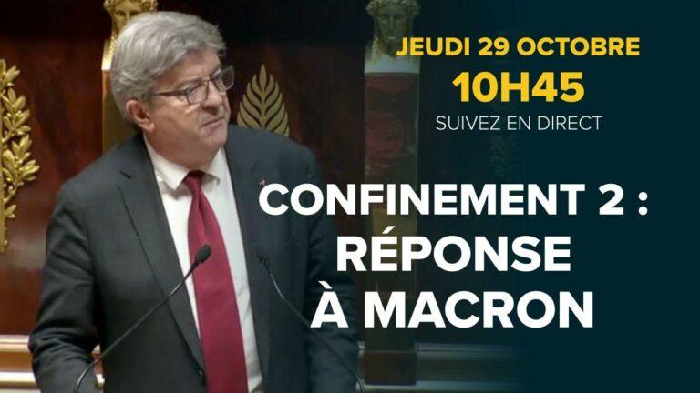 Confinement 2 reponse a Macron