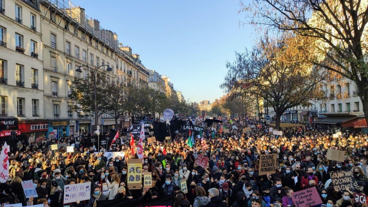 Foules Impressionnantes Partout En France Contre La Loi Securite Globale L Insoumission