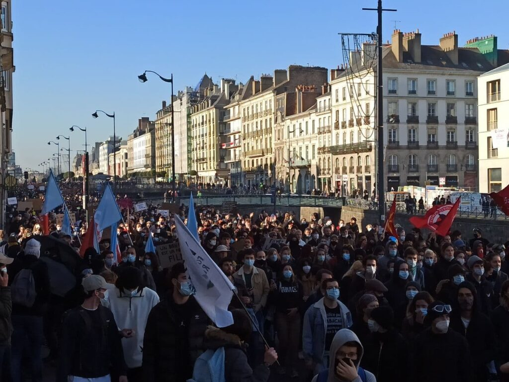 Rennes foule
