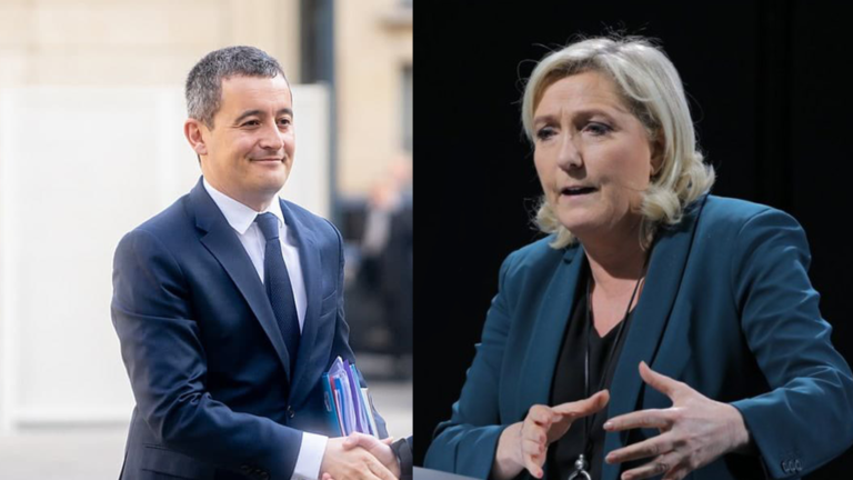 Visuel Darmanin Le Pen