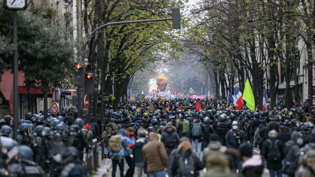 Securite Globale Nouvelles Manifestations Dans Tout Le Pays L Insoumission