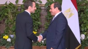 Macron Al Sissi e1607342340525