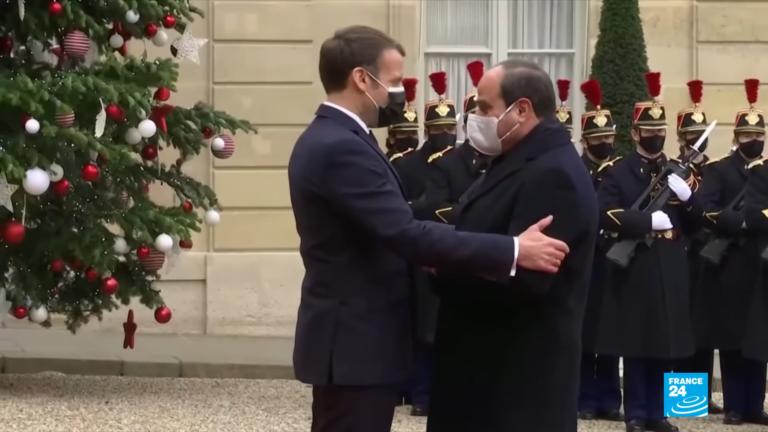 Macron Sissi
