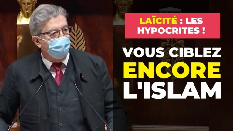 ciblez encore islam hypocrites laicite