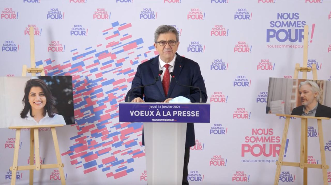 melenchon voeux question sociale