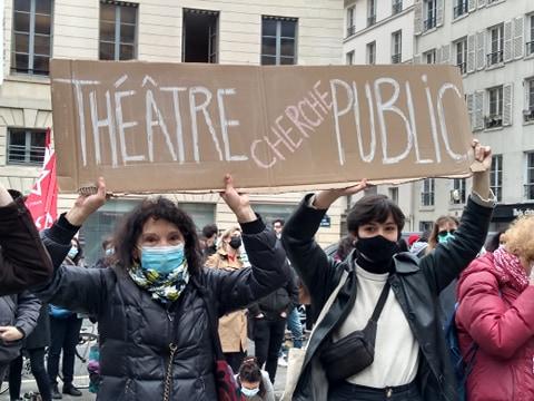 l'occupation des théâtres comme outil de lutte
