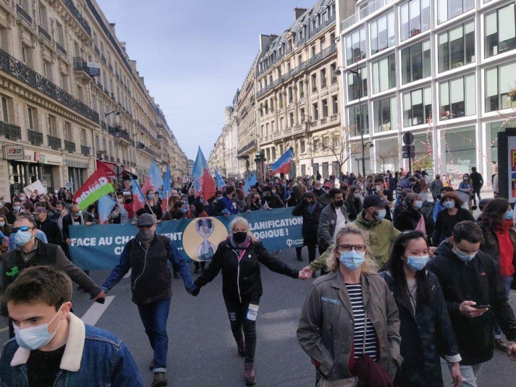 Paris foule