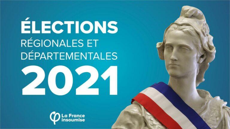 visuel elections departementales et regionales 2021
