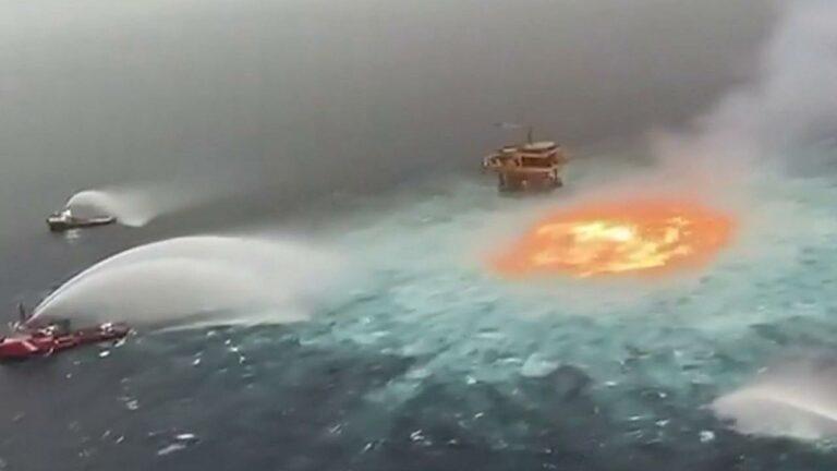 Oeil de feu mer