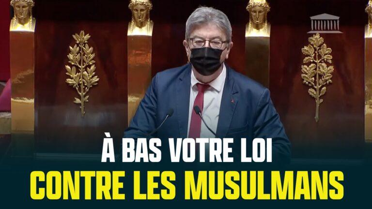 melenchon loi contre les musulmans