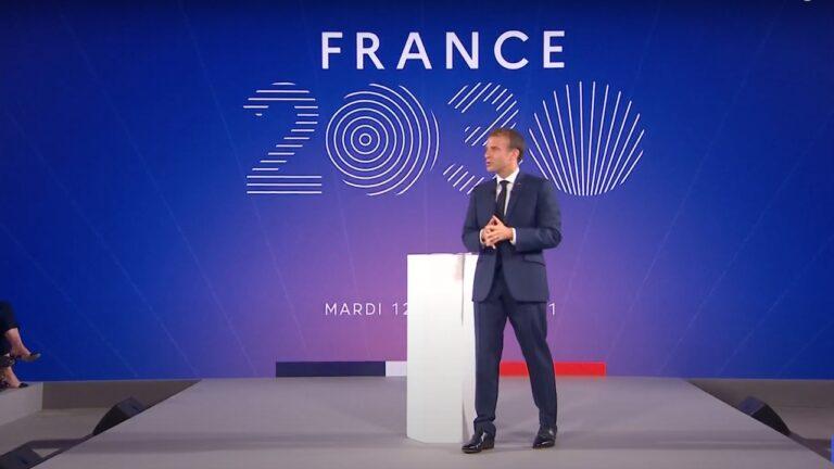 macron plan france 2030